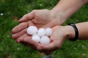 Nice Sized Hail